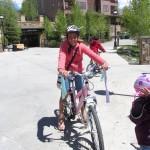 Bici en chanclas