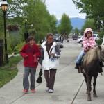 Recorrido en Pony