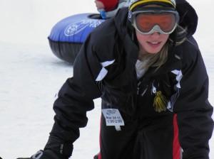 Snow tubing en Breck