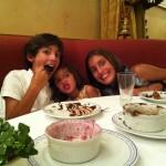 Los souffles estaban deliciosos, especialmente el de chocolate