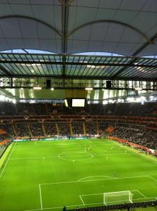 Un gran partido en un gran estadio. Japón increíble y dignas campeonas