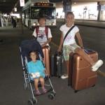 Llegando al aeropuerto de Denver