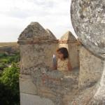 La princesa en el alcázar de Segovia
