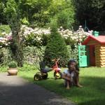 Ely en su jardín encantado