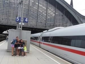 Llegando a Colonia