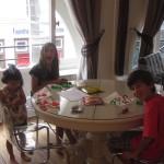 Jugando Play-Dough