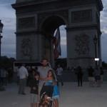 Llegar al arco entre tanta gente en Champs Elysees fue realmente un triunfo