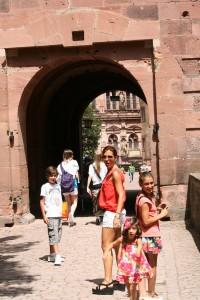 Entrando al Schloss