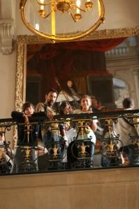 Atrás, Luis XIV