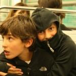 Uno de los pasatiempos del Metro... encimarse mas en la gente