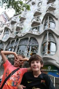 Casa Batlló... o la casa de los antifaces como Ania nos muestra!