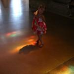 Dancing in the lights