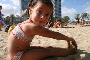 Todos disfrutamos del dia de playa...